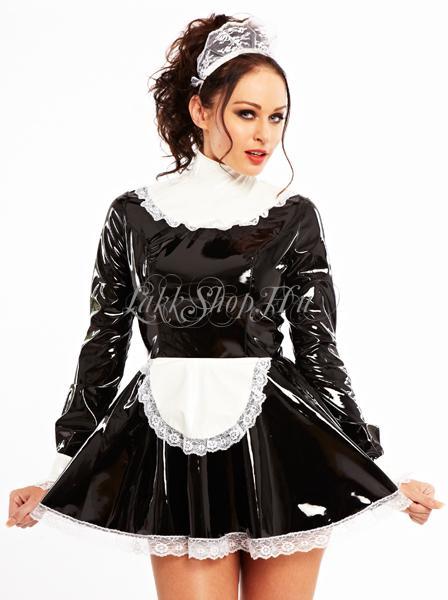 Pvc Maid Dress Vinyl Dresses Lakkshop